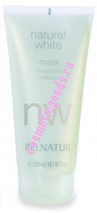 NATURAL WHITE MASK, НАТУРАЛ ВАЙТ МАСК, Belnatur 200мл